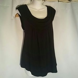 Black Knit Top By Daisy Fuentes
